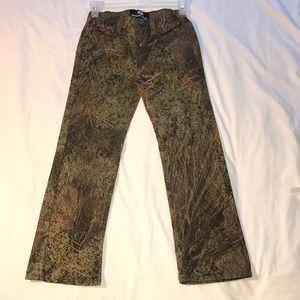 Mossy Oak Brush Camo youth five pocket XL